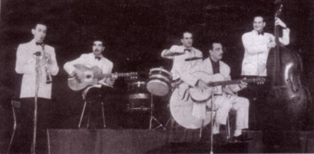 Quintette du Hot Club de France en 1941