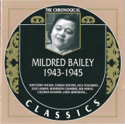 jaquette CD Mildred Bailey