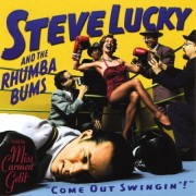 jaquette CD Steve Lucky and The Rhumba Bums