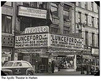 Harlem renaissance apollo theater